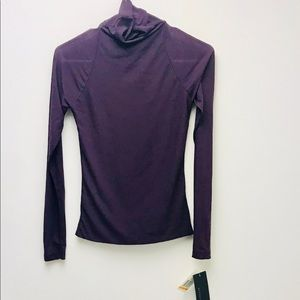 NWT Kenneth Cole Plum Colored Blouse.